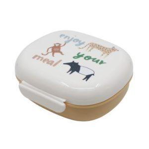 """Lunchbox mit Trennwand  """"Wildlife""""   von SEBRA"""
