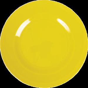 """Melamin Frühstücksteller  """"yellow""""     von *rice"""