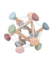 """großer Greifling Baby Spielzeug  """"Magic Ball""""   fröhlich bunt aus Holz   von JaBaDaBaDo"""