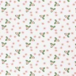 """Jersey Vintage Botanical """"Erdbeerblüten""""  in  off white/bunt von Swafing"""