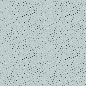 "Cotton Slub Washed   ""light blue with Dots """