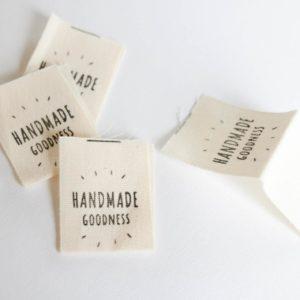 "Label ""Handmade Goodness""    /  1 Stück"