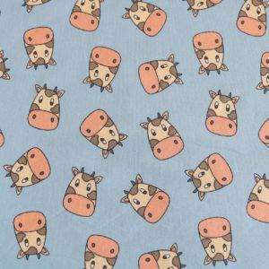 """Jersey """"Loella the Cow"""" in bleu/bunt"""