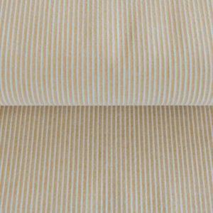 Angebot! Cotton Seersucker Webcotton / fein gestreift in mustard/weiß