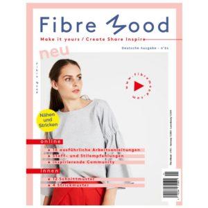NO 1 / FIBRE MOOD Schnittmusterzeitschrift