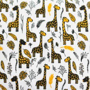 """Angebot! Jersey """"Giraffen Party""""  in weiß/bunt"""