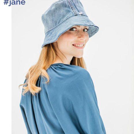 Jane blue back