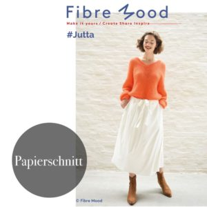 """""""Jutta"""" Rock"""" Papierschnittmuster von FIBRE MOOD"""
