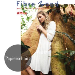 """Mira"" Kleid  Papierschnittmuster von FIBRE MOOD"
