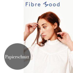 """Victoria"" Bluse"" Papierschnittmuster von FIBRE MOOD"
