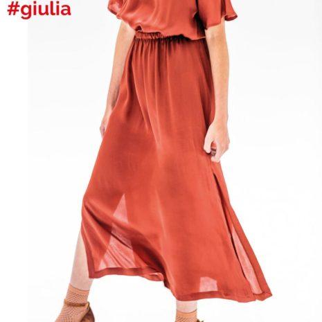 giulia red dress