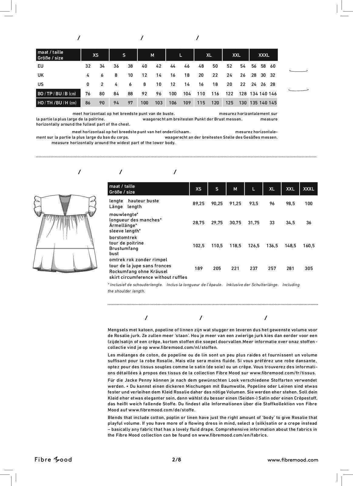 rosalie_size_chart