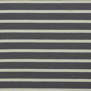 "Angebot! Jersey ""Retro-Stripes""  in  grau/ weiß/ limette"