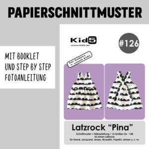 #126PP Papierschnitt Latzrock PINA + Booklet