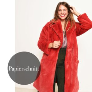 """Roma"" Mantel-Jacke  Papierschnittmuster von FIBRE MOOD"